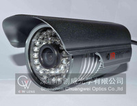 "36 LED 1/3"" Sony Effio CCD 960H 700TVL OSD menu IR 30m outdoor bullet waterproof CCTV camera with Bracket . Free Shipping"