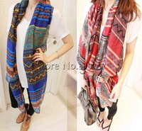 Sale 2013 women designer fashion,Bohemia scarf,women's aztec print scarves,rhombus graphic geometric patterns large cape scarfs
