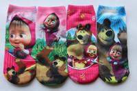 Wholesale New 2013 Baby Kids Childrens Cotton Socks For 2-8years Girs Cartoon Dora Princess Fashion Sock 12pcs/lot Free Shipping