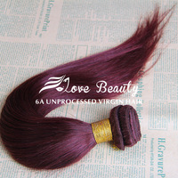 "RY beauty weave peruvian hair cheap burgundy hair peruvian staight hair 99j hair extension 3pcs lot free shipping 12""-28"""