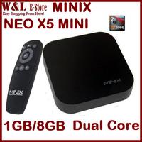 MINIX NEO X5 mini  Android 4.2.2 Mini PC RK3066 Dual Core 1.6Ghz 1GB RAM 8GB ROM Google Smart TV BOX XBMC Media Player