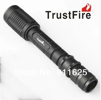 5pcs/lot  Z5  Cree XM-L T6 1600LM LED 5-Mode Adjustable Focus Flashlight Torch (2x18650)