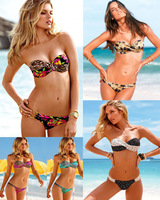 NEW Sexy Women Push Up Padded Bikini Swimwear Swimsuit Bathing Suit SMLT86
