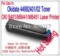 Refill Toner For OKI B401 MB441 MB451 Printer,For Okidata 44992401 44992402 Toner For OKI B441 B451 Printer,For OKI 441 Toner