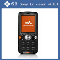 Original Sony Ericsson w810i 2MP Camera Bluetooth FM MP3 mobile phone Bar unlocked gsm cell phones