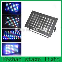 Free Shipping,whole New DJ DMX Disco Stage Lighting Effects 54pcs RGBW Leds Par 64 Can,led par can light,Dj Par stage light