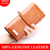Wallets For Women 2014 Long Genuine Leather Women Wallet Fashion Plaid Wallet Women Clutch Purse Card Holder