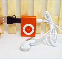 QQ&VV : 1PC Free Shipping Clip Mini MP3 Music Players  player +USB CABLE +headphone/earphone AUUIS VNAN& ALSKS UIUATA000