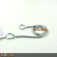 Chorme Snake P Chock Chain Dog Training Collars Leash  New Brand