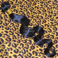 Malaysian Virgin Hair Body Wave Grade 5A Can Bleached Cheap Human Hair Weaves 50g/pc Rosa Hair Products More Wavy Free Shipping