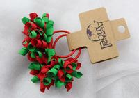 Christmas colorful kids elastic hair band,free shipping