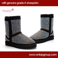 2013 knee snow boots