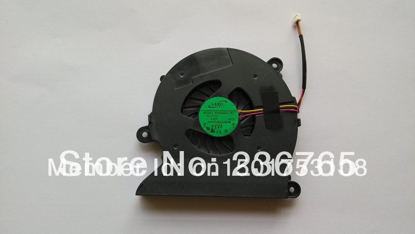 Brand new and original CPU Cooling Fan For Clevo M760 S410 laptop cpu cooling fan cooler AB0805HX-TE3(China (Mainland))