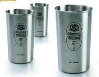 Free shipping Russian pattern simple stainless metal beer mugs/ outdoor mugs 13oz, coffe/ water dringking mug cups