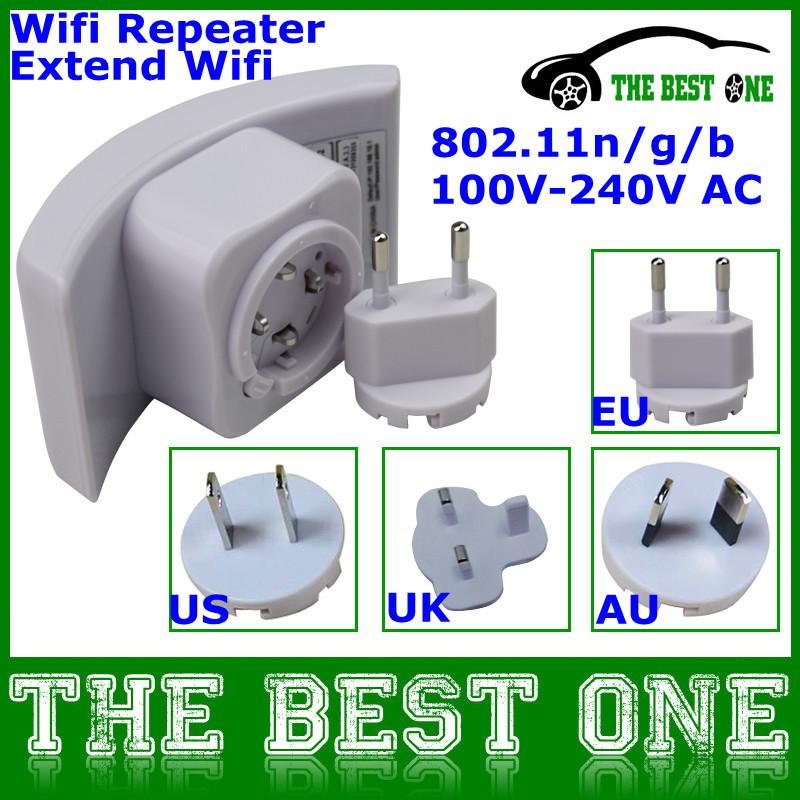 Wireless-N Network Device Wi-Fi Wifi Repeater Booster Router Range Expander 300Mbps 2dBi Antennas US/EU/AU/EU Plug Optional(China (Mainland))