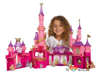 Classic Collection Germany  play toy  MLP oversized pink castle toy house Complimentary two colt