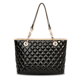 New 2013 arrival  Women Leather Handbags Women Brand Designer Tote Shoulder Bag Purse Fashion Quilted Bag luxury diamond lady