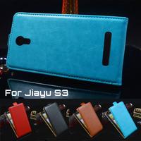 5 Colors PU Leather Case Jiayu G2 Jiayu G2S / Flip Jiayu G2 Case Cover Jiayu G2S Case Free Shipping