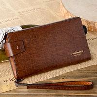 free shipping Harrms Male wallet men's clutch Men handbag clutch bag cowhide genuine leather handbag