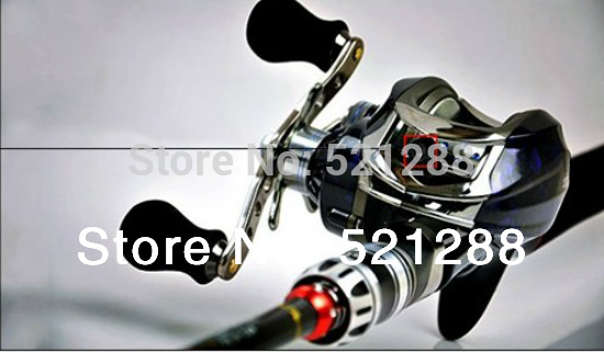 Free shipping Fishing reel Bait baitcasting fishing reel Left hand DM120LC 10 +1BB baitcast reel abu garcia(China (Mainland))