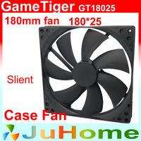 case fan 180mm, 18cm fan, quiet, for power supply, for computer Case, computer fan, GameTiger GT18025