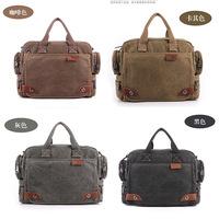 4color canvas casual bag one shoulder cross-body bag men purses and handbags designer handbags high quality men travel bags