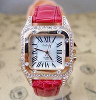 Supernova sale High quality Famous Brand Crystal Rhinestone watch women dress quartz wristwatch go055