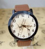 Wholesale High quality lovely Cartoon leather strap watch Children women dress quartz wrist watch OLJ-9