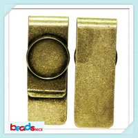 Beadsnice ID26826 brass designer money clip top quality wallet card holder wholesale money clips with 20mm base
