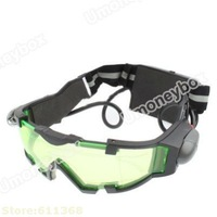 Hot selling Hot sale Top quality Night Vision Goggles with Flip-out Blue LED Lights Windproof Goggles with Flip-out Lights