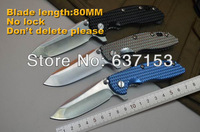 CTS HP 20,carbon steel,aluminum handle,outdoor camping combat survival hunting folding blade colorful knife