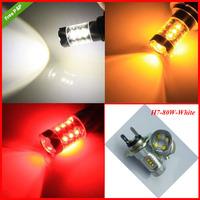 Free Shipping 80W 1156 1157 9005 9006 H4 H7 High Power cree Headlight Led Vehicles Car Fog Light