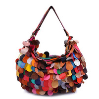 Free Shipping !! 2013 Bags Women Designer Handbag Totes Color Match genuine leather Women Totes patchwork bags B20