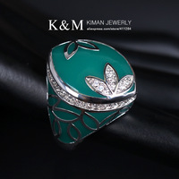 (Min order is $10) New Arrival Polyester Resin Ring Fashion Flower Design Jewelry for Women Free Shipping Mixed Order Accepted