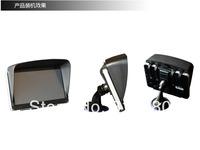 2014 New Free shipping 6 inch 7 inch GPS universal sunshade sun shade Universal GPS navigator hood light barrier seven inches