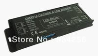 First come first served Free shipping new 2013 hot sale strip LED rgb controller DMX512 Decoder (Constant Current)