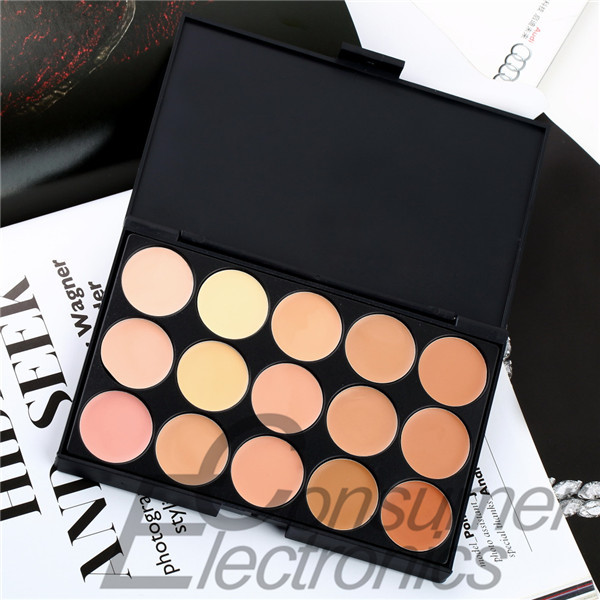 1PC 15 Color Neutral Makeup Eyeshadow Camouflage Facial Concealer Palette Newest