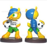 2014 new Factory outlets Cup Brazil 2014 World Cup mascot mascot toys and gifts High 13cm, base 7cm