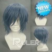 Short layered kamina -AKIRA Straight Cosplay wigs COS-018B