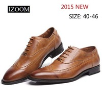 Fashion Oxford Shoes for Men Faux Leather Casual Dress Shoes Leather Shoes Shoe for Men Free Shipping S0230