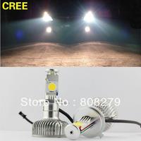 Dry HB4 9006 25W+10W CREE LED High Power Car Truck White Headlight Fog Bulb DRL 2000LM 12V