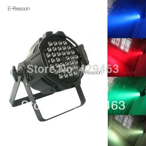 New! 36*3W LED Par Light Professional Led Stage Lamp High Power RGB DMX512 Master Slave Par Lights Dj Controller,Free Shipping(China (Mainland))