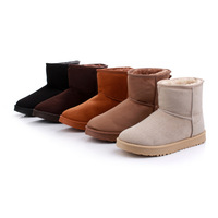 2013 new classic boots round head flat with winter winter boots women's boots flat boots-in-tube snow boots warm cotton shoes