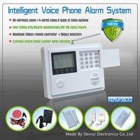 2013 - Dual Network GSM Alarm  Wireless alarm Burglar Alarm System for Home Security(KR-5800G)