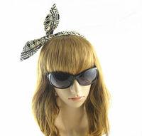 Geometric figure Women's  Hair Accessory  Fashion  Rabbit  Ear  Hair Band