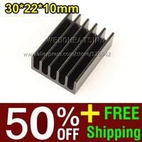 Охлаждение для компьютера We do heat sink 50% OFF + 2, 000pcs 30 * 22 * 10 3W 5W EH30x22x10B