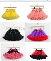 Free Shipping 2014 Summer Girls Pettiskirts Tutu Skirt Ball Gown Princess Fluffy Pettiskirts Baby tulle tutu short Party skirt