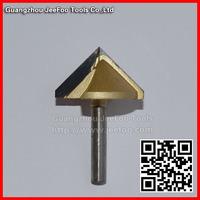 6*32*90degree  10PCS 2 flutes 3D V-Type Cuter V Bits For Engraving Tool Machine