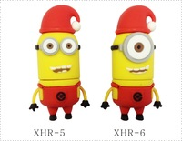 UFD0331 Wholesale 40 Kinds of Hotsale Despicable Me 2 Dave Christmas Gift 4GB - 32GB USB 2.0 Flash Memory Stick Drive U Disk