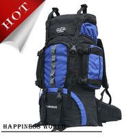 New 2014 Large Hiking Bag 60l Men Women Climbing Backpack Outdoor Waterproof Mountaineering Bag Backpack Free Shipping